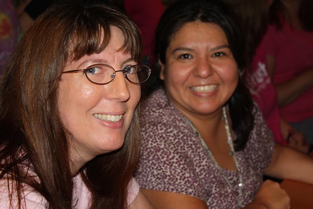 Paula and Rachel