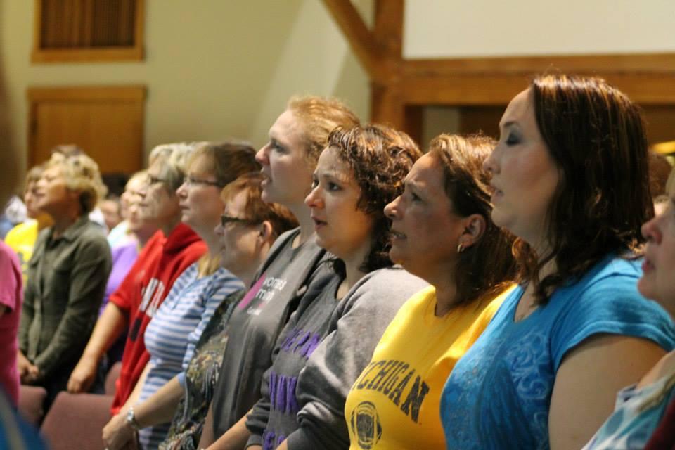 Women Worshiping
