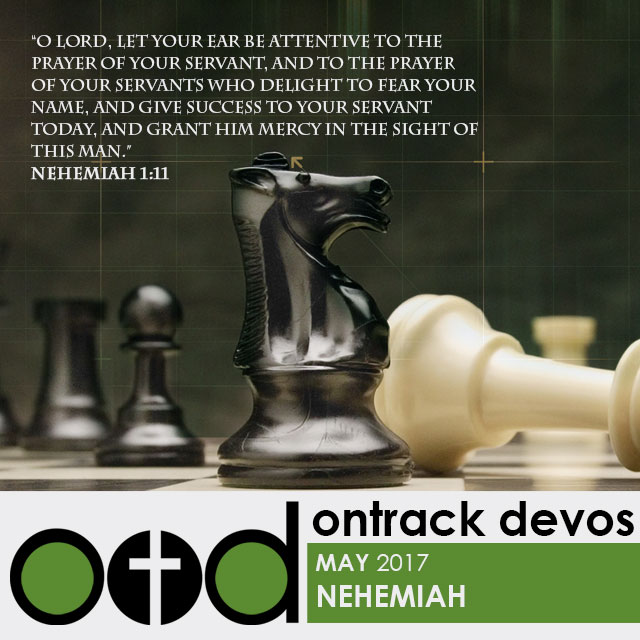 On Track Devotions – May (Nehemiah)