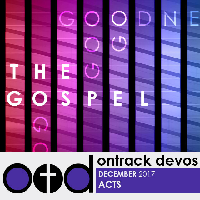 On Track Devotions – December (Acts)