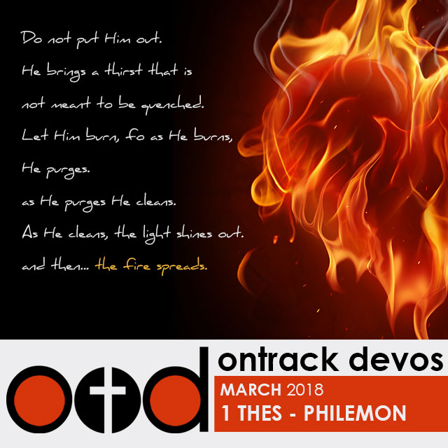 On Track Devotions – March (1 Thessalonians To Philemon)