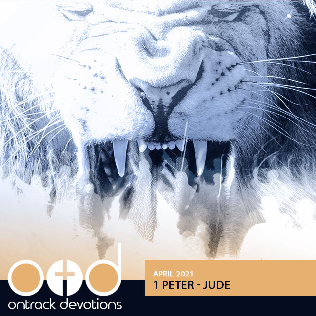 On Track Devotions – 1 Peter – Jude (April)