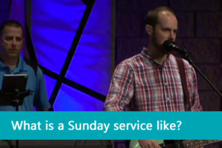 What is a Sunday service like?
